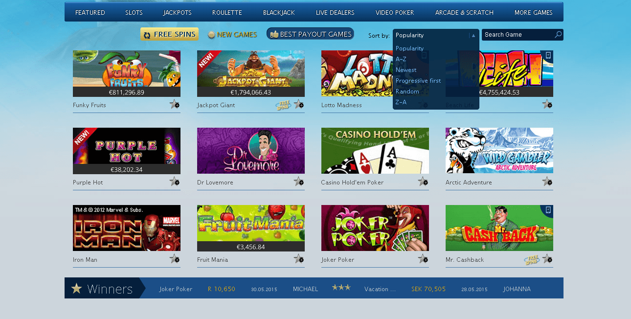 europaplay casino download