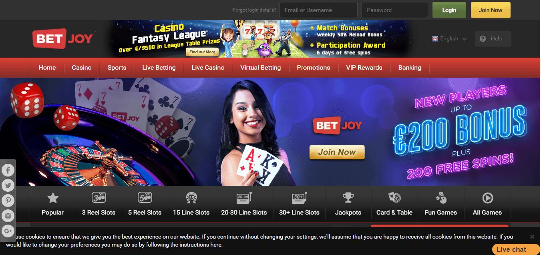 betjoy casino
