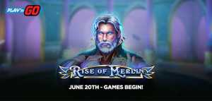 New Magic Adventure: Play'n GO Releases Rise of Merlin Slot
