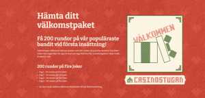 Casinostugan Launches a New Swedish Welcome Offer