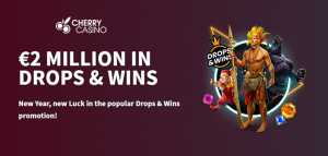 Cherry Casino Runs Drops & Wins with €2 Million Prize Pool (Until February 10th)