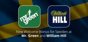 Mr. Green and William Hill Casinos Change Welcome Offer for Sweden