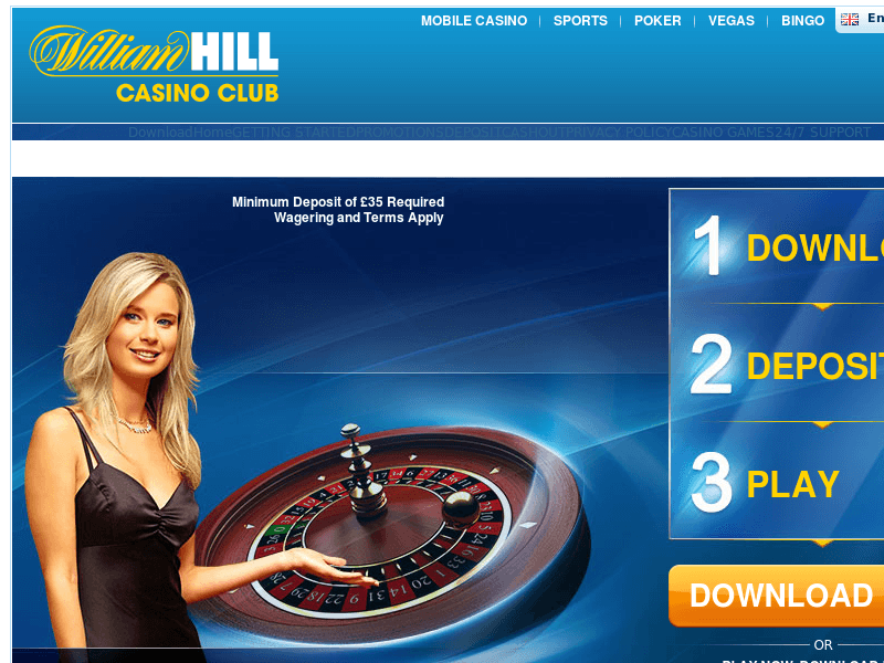 william hill casino club support