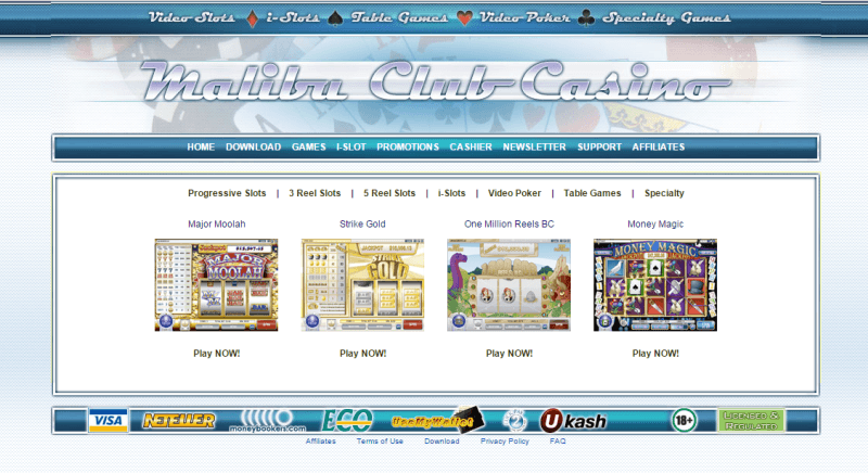 malibu club casino download