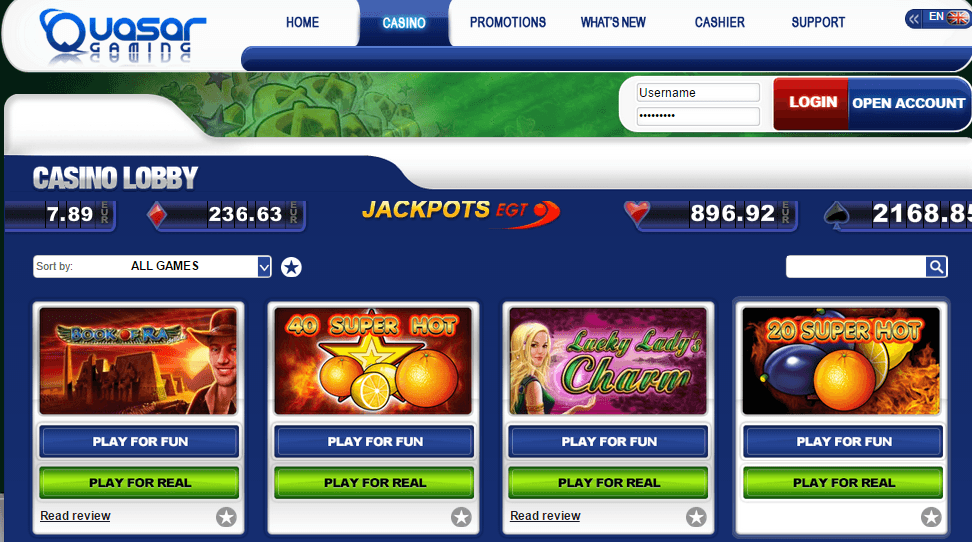 no deposit sign up bonus online casino quasar casino