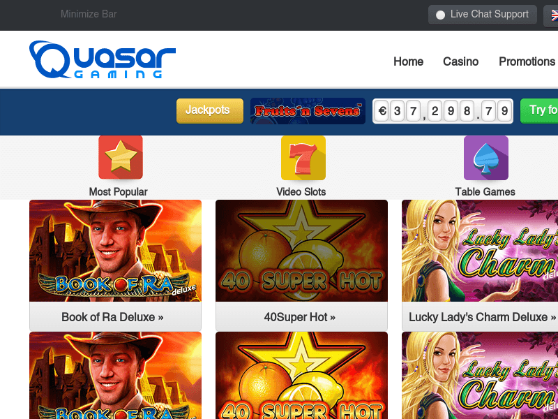 online casino websites quarsar
