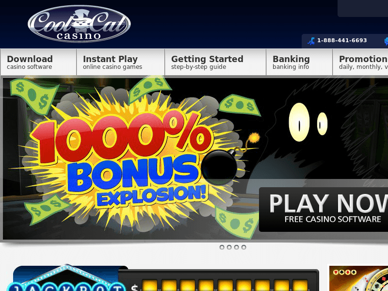 Cool Cat Casino Free Slots