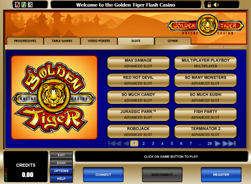 Golden Tiger Casino Download & Play