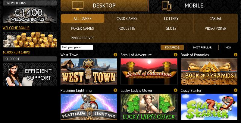 casino club software