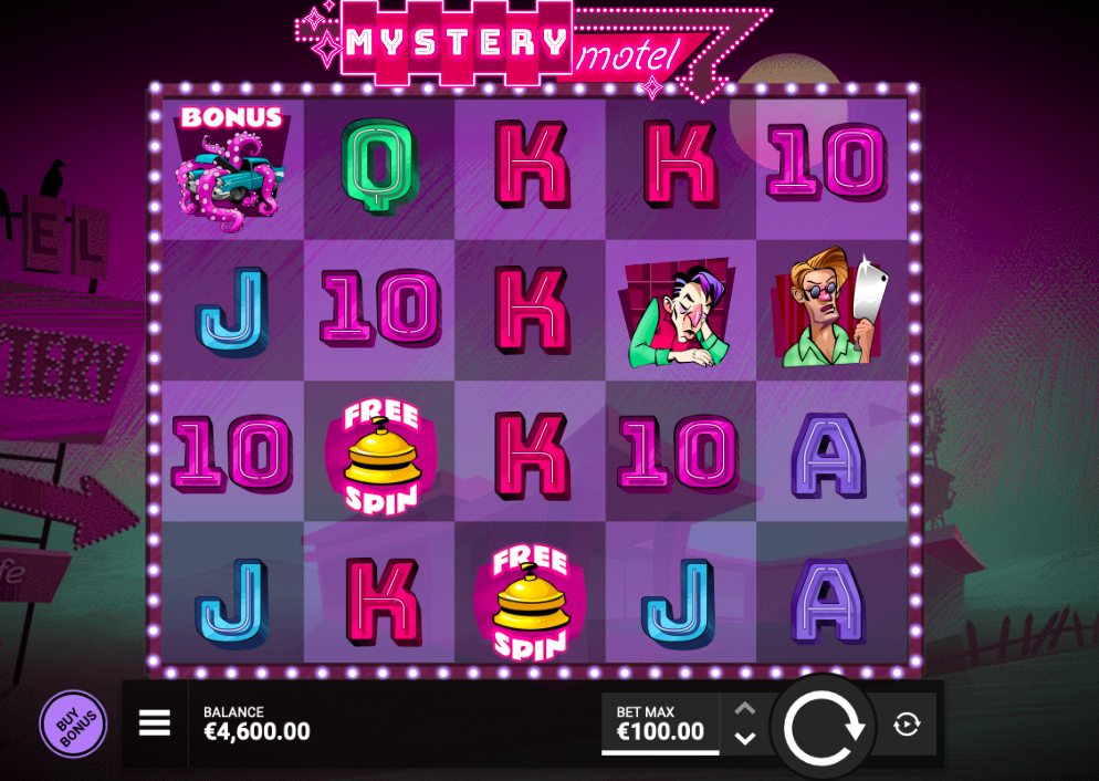 Mystery Motel Slot by Hacksaw Gaming