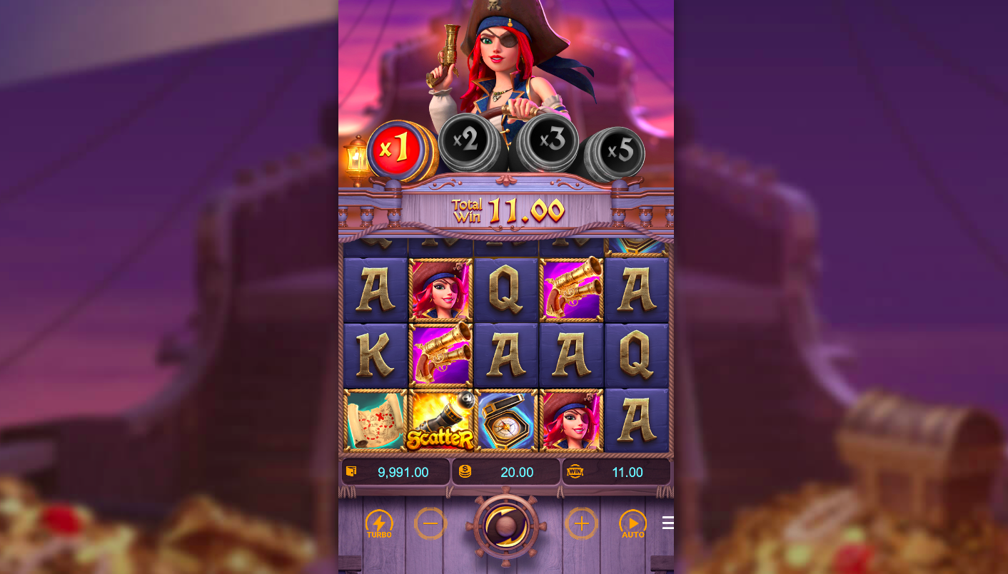 Queen of Bounty Slot by Pocket Games Soft