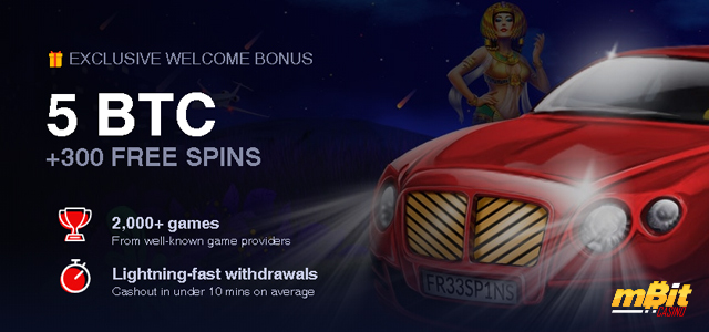 New Welcome Bonus And Star Wars Themed Promo At Mbit Casino