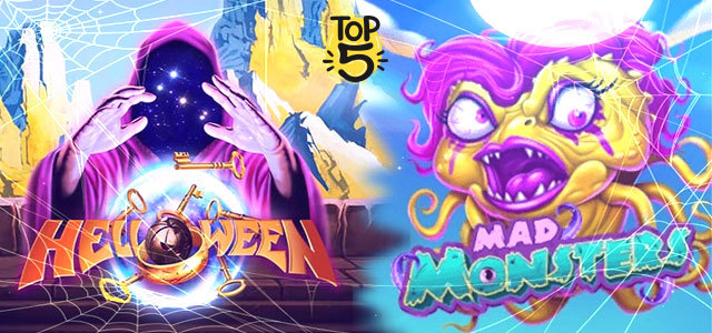 Top 5 Halloween Slot Games in 2020
