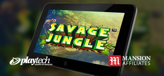 Exclusive Launch: Playtech Supplies Savage Jungle Slot to Mansion Affiliates