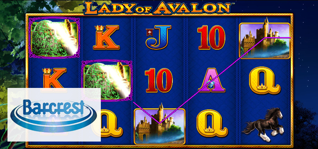 Barcrest Launches Lady of Avalon Slot (with Link for Demo Play)