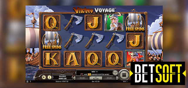 Get Ready for Adventure: BetSoft Launches Viking Voyage Slot (Video Preview Included)