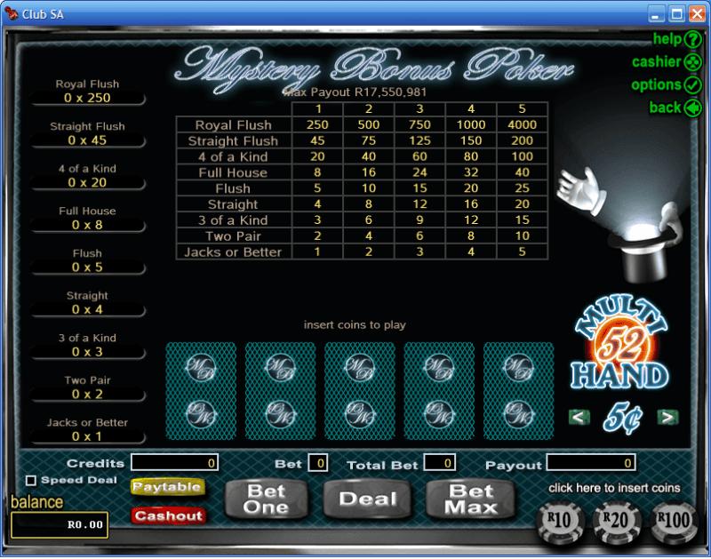 casino bonus online poker 4 of a kind