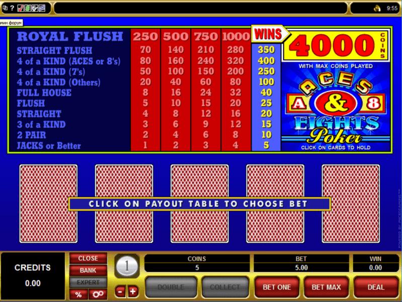 golden casino online poker 4 of a kind