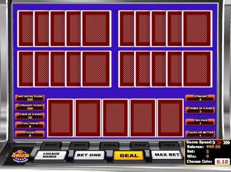free money online casino poker 4 of a kind