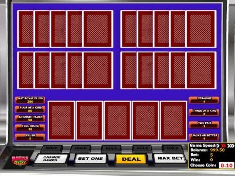 casino online list poker 4 of a kind