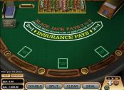 'Single Deck BlackJack' by 'BetSoft'. Click the image to enlarge.