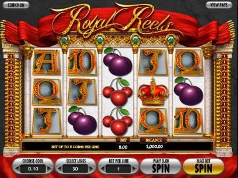 Free Royal Reels Slot Machine