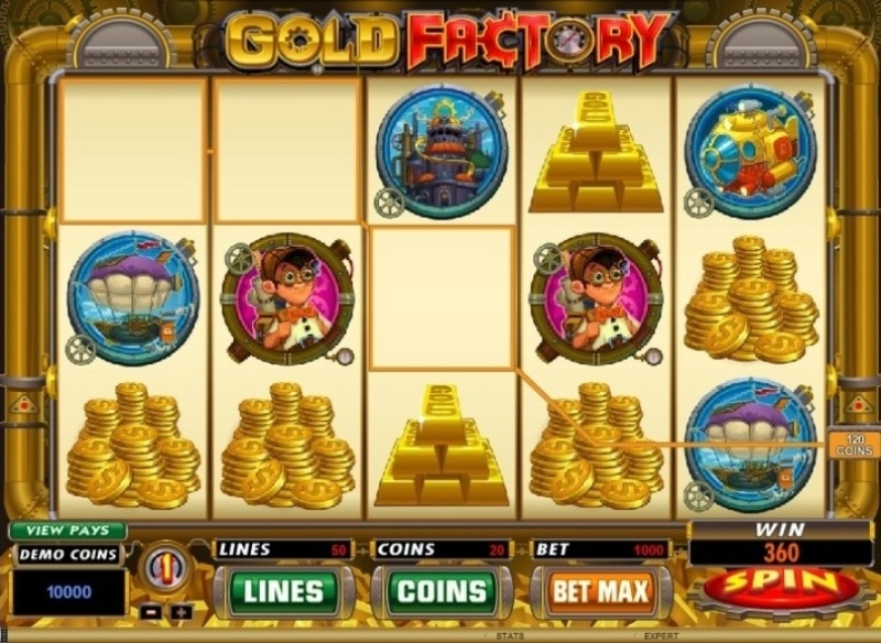 spin casino gold factory