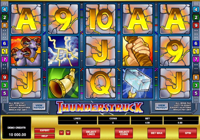 Free thunderstruck 11 slots