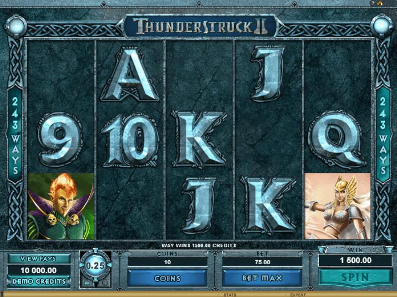 Thunderstruck 2 ladbrokes betting top horse betting websites