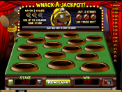'Whack A Jackpot' by 'Microgaming'. Click the image to enlarge.