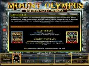 'Mount Olympus The Revenge of Medusa' by 'Microgaming'. Click the image to enlarge.