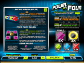 'Four By Four' by 'Microgaming'. Click the image to enlarge.