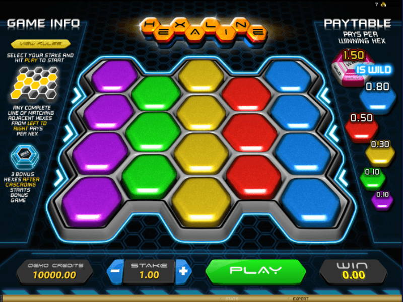 Hexaline Slots - Play Microgaming Casino Games Online
