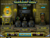 'Pharaoh's Gems' by 'Microgaming'. Click the image to enlarge.