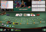 'Live Baccarat' by 'Microgaming'. Click the image to enlarge.