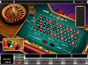 'Roulette' by 'Microgaming'. Click the image to enlarge.