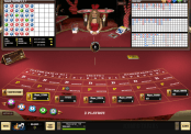 'Live Baccarat - Playboy Live Casino' by 'Microgaming'. Click the image to enlarge.