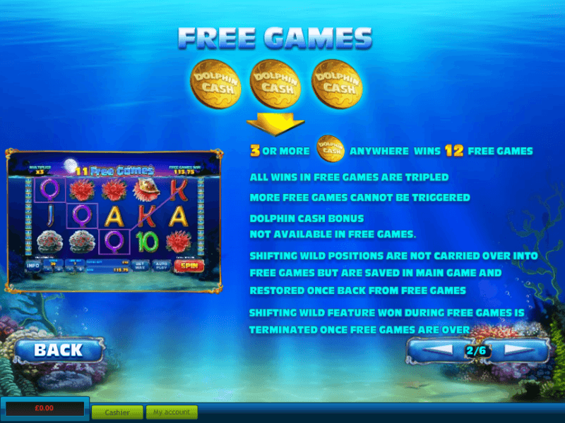 william hill online slots dolphin pearls