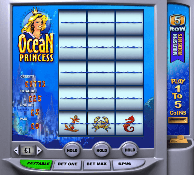 Play Ocean Princess Slots Online at Casino.com Canada