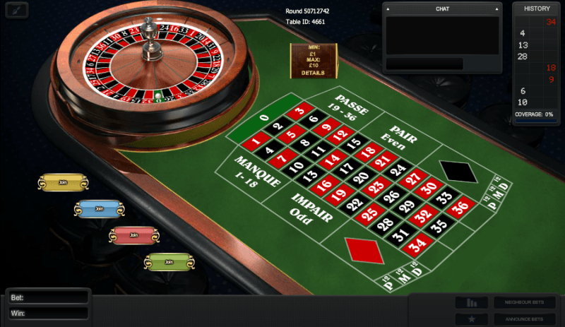 Play French Roulette Multiplayer Online at Casino.com NZ