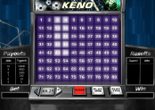 'Keno' by 'Playtech'. Click the image to enlarge.