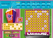 'Pop Bingo' by 'Playtech'. Click the image to enlarge.