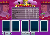 'Aces and Faces' by 'Playtech'. Click the image to enlarge.