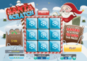 'Santa Scratch' by 'Playtech'. Click the image to enlarge.