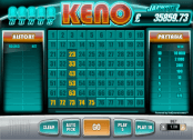 'Bonus Keno' by 'Net Entertainment'. Click the image to enlarge.