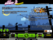 'Jack Hammer 2  Fishy Business' by 'Net Entertainment'. Click the image to enlarge.