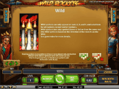 'Wild Rockets' by 'Net Entertainment'. Click the image to enlarge.