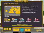'South Park' by 'Net Entertainment'. Click the image to enlarge.