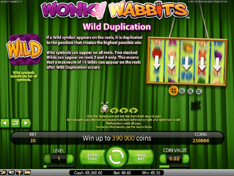 best online casino wonky
