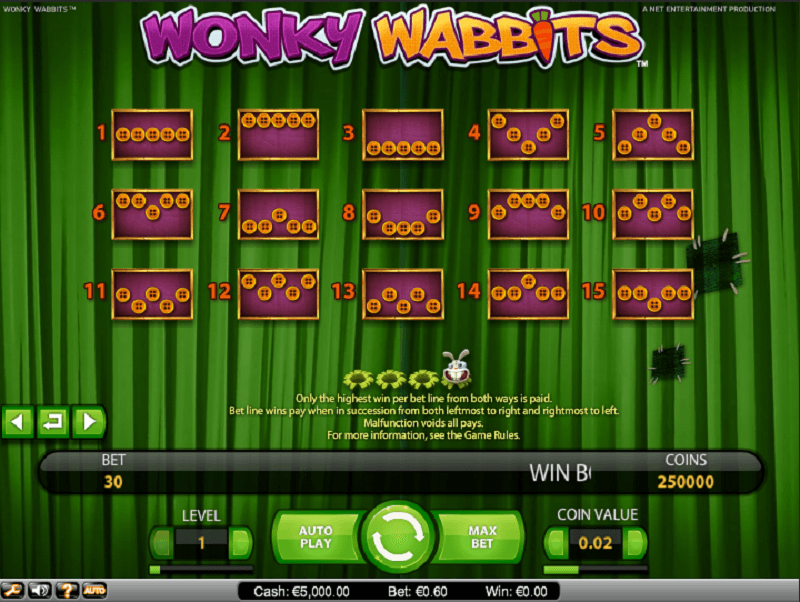 casino online games wonky